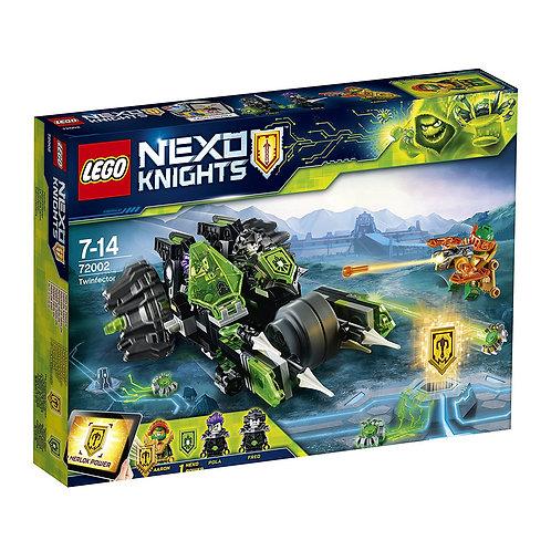 Lego 72002 Nexo Knights - Twinfector