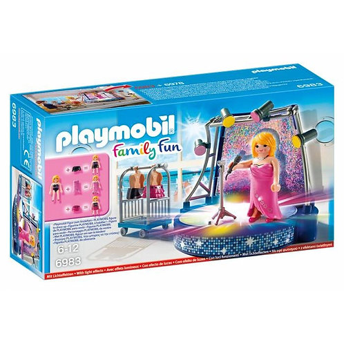 Playmobil 6983 Family Fun - Singer with Stage