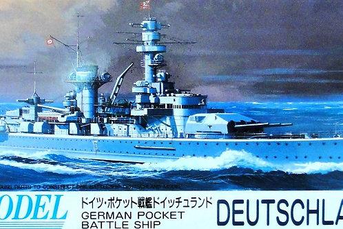 Fujimi - German Battleship Deutschland 1/700