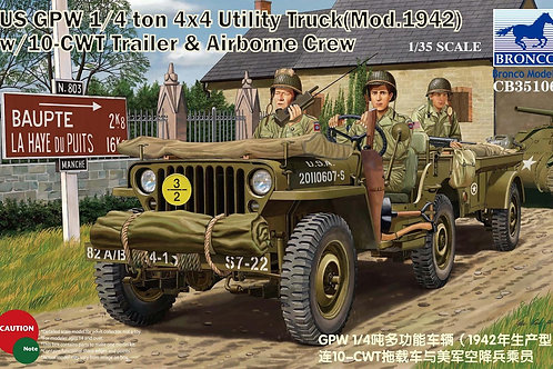 Bronco - US GPW 1/4 Ton 4x4 Utility Truck 1/35