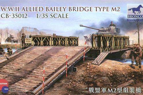 Bronco - WWII Allied Bailey Bridge Type M2 1/35