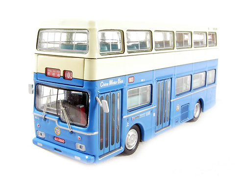Britbus - Scania Metropolitan d/deck bus in blue