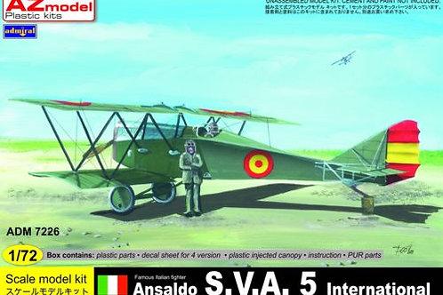 AZ Models - Ansaldo SVA.5 International 1/72