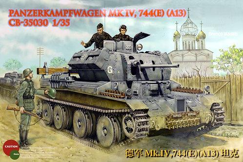 Bronco - Panzerkampfwagen Mk.IV 744(E) 1/35