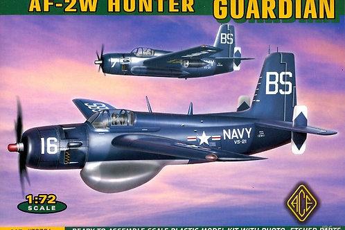 Ace - Grumman Guardian AF-2W Hunter 1/72
