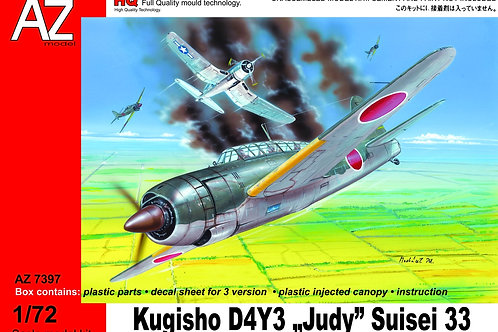 """AZ Model - Kugisho D4Y3 """"Judy"""" Suisei 33 1/72"""