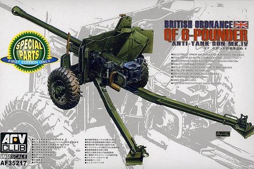 AFV Club - QF 6-Pounder Anti-Tank Gun Mk.IV 1/35