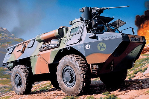Heller - 4x4 VAB Infantry 1/35