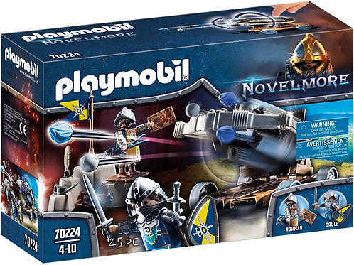 Playmobil 70224 Novelmore - Water Ballista with Knights