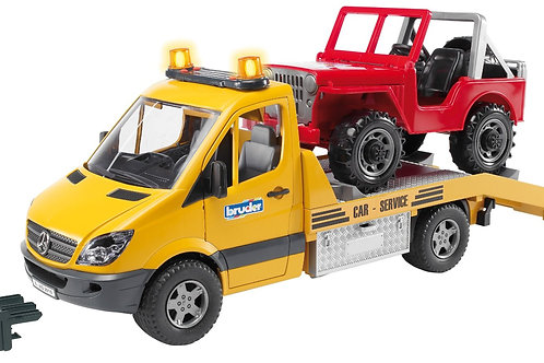 Bruder 02535 - MB Sprinter w. Cross Country Vehicle 1/16