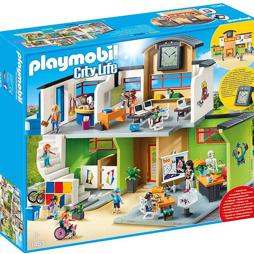 Playmobil 9453 City Life - Furnished School Building