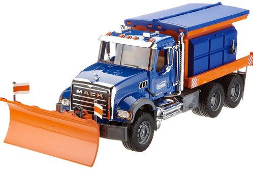 Bruder 02816 - MACK Granite Snow Plow Truck 1/16