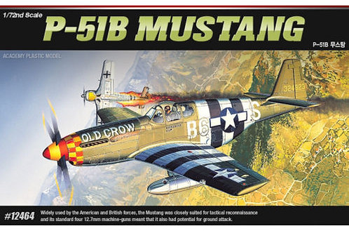 Academy - P-51B Mustang Old Crow 1/72