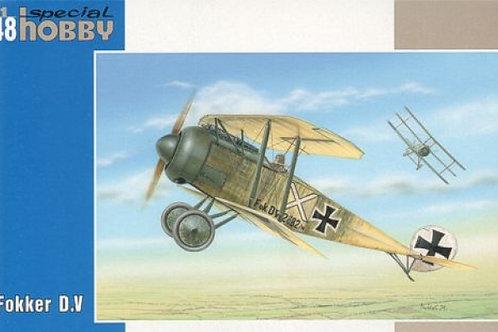 Special Hobby - WWI German Fighter Fokker D.V 1/48