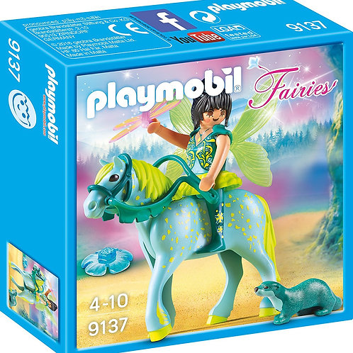 Playmobil 9137 Fairies - Water Fairy With Horse