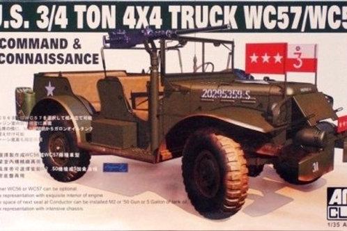 AFV Club - WC57/WC56 3/4 Ton 4 x 4 Truck 1/35