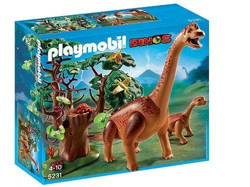 Playmobil 5631 Dinos - Brachiosaurus with Baby