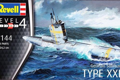 Revell - German Submarine Type XXIII 1/144