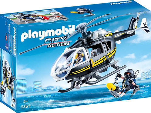 Playmobil 9363 City Action - Police Special Force Helicopter