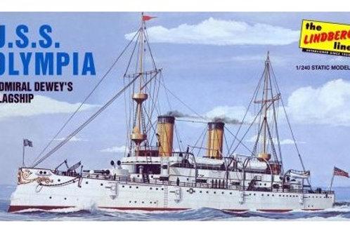 Lindberg - USS Olympia Battleship 1/240