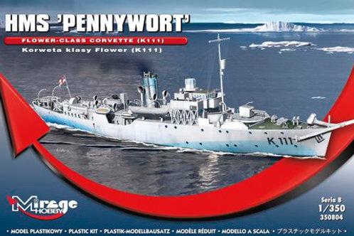 Mirage Hobby - HMS Pennywort Flower-Class Corvette 1/350