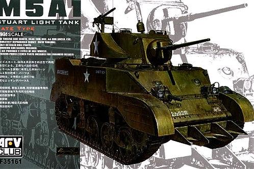 AFV Club - Stuart Light Tank M5A1 1/35