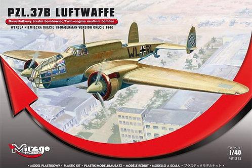 Mirage Hobby - PZL 37B Łoś Luftwaffe 1/48