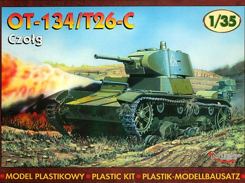 Mirage - Soviet Flamethrower Tank OT-134/T-26C