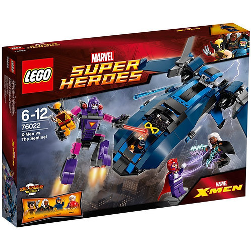 Lego 76022 Super Heroes - X-Men Vs. The Sentinel