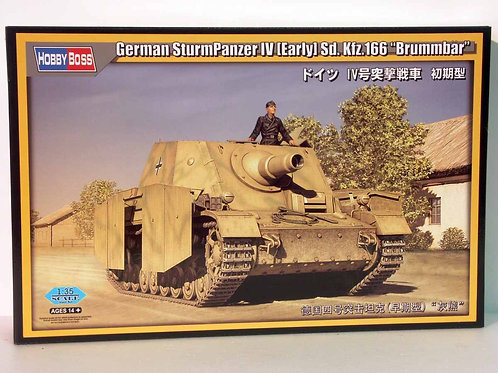Hobby Boss - German Sturmpanzer IV Sd.Kfz.166