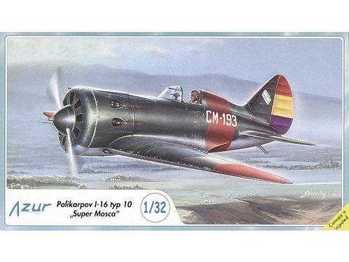 Azur - WWII Soviet Fighter Polikarpov I-16 type 10 'Rata' 1/32