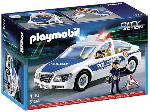 Playmobil 5184 City Action - Police Car with Flashing Lights