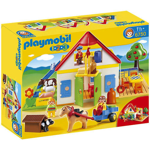 Playmobil 6750 1.2.3 - Large Farm