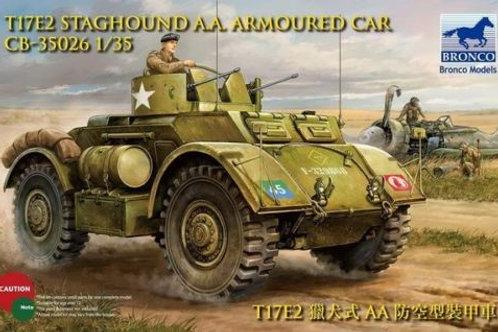 Bronco - T17E2 Staghound AA Armoured Car 1/35