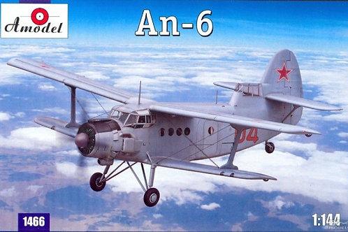 Amodel - Antonov An-6 1/144