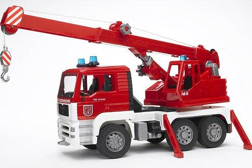 Bruder 02770 - MAN Fire Engine Crane Truck 1/16