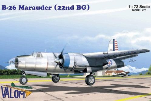 Valom - B-26 Marauder (22nd BG) 1/72