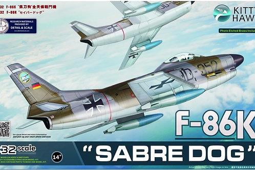 Kitty Hawk - Luftwaffe F-86K 'Sabre Dog' 1/32
