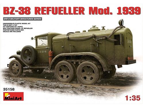 MiniArt - Soviet BZ-38 Refueller Mod 1939 1/35