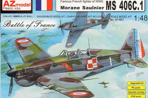 AZ Models - Morane Saulnier MS 406C.1 1/48