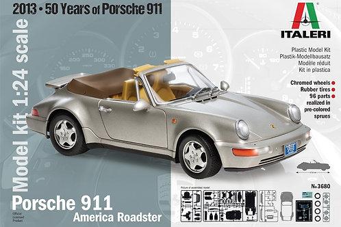 Italeri - Porsche 911 American Roadster 1/24