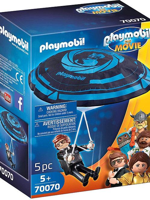 Playmobil 70070 The Movie - Rex Dasher mit Fallschirm