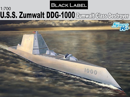 Dragon - U.S.S. Zumwalt DDG-1000 Class Destroyer