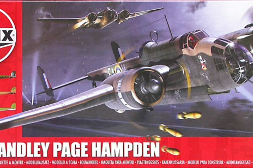 Airfix - Handley Page Hampden 1/72