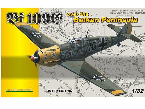 Eduard - Bf-109E over the Balkan Peninsula 1/32