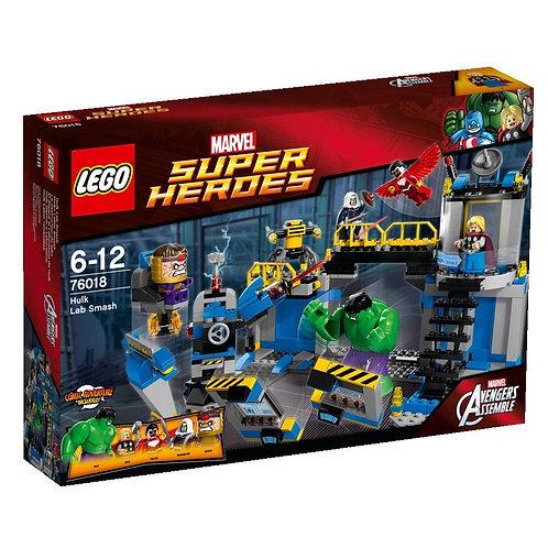 Lego 76018 Super Heroes - Hulk Lab Smash