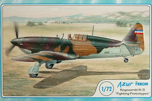 Azur - Rogozarski IK-3 'Fighting Prototypes' 1/72