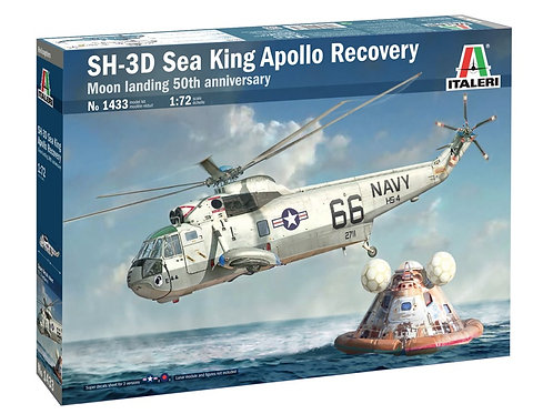 Italeri - SH-3D Sea King - Apollo Recovery 1/72