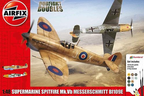 Airfix - Supermarine Spitfire Mk.Vb/Messerschmitt