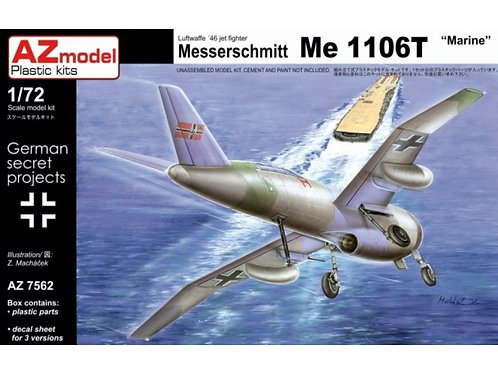 "AZ Model - Messerschmitt Me-1106T ""Marine"" 1/72"